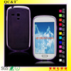 Ultra Thin Slim soft TPU 0.65mm Cover Skin Phone Case for Sumsung galaxy S3 mini I8190