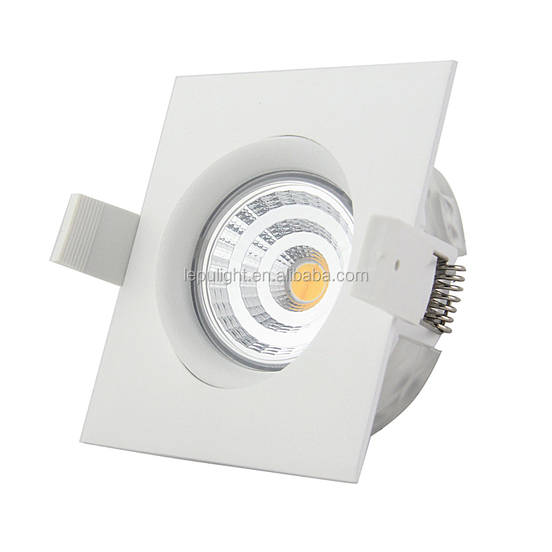 LEPU Patent CCT Dimming LED Downlight GYRO IP44 dim warm 2000k-3000k 95Ra