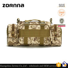 Wholesale quality and durable travel military canvas duffle bag