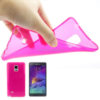 0.45mm TPU phone Smooth Skin Translucent Protective case for Google Nexus 6