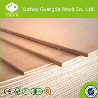 best price 5 x 8ft 18mm red cypress wood plywood