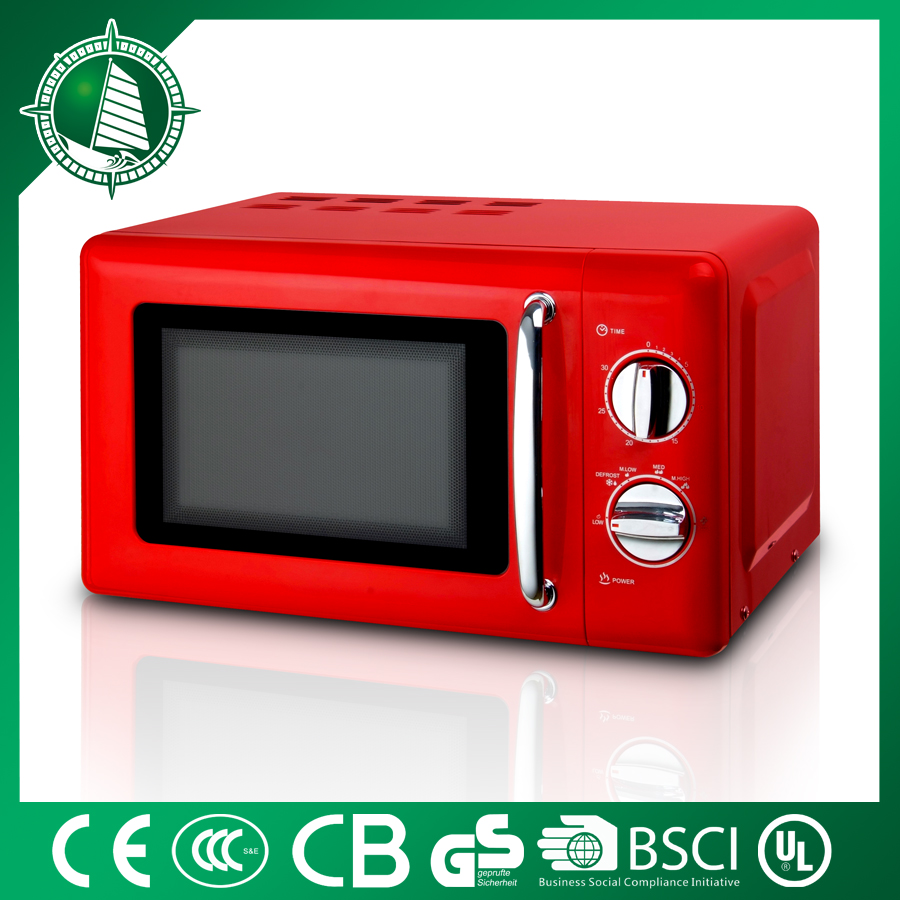 20L Microwave oven 700w solar powered new design microwave/commercial rice oven