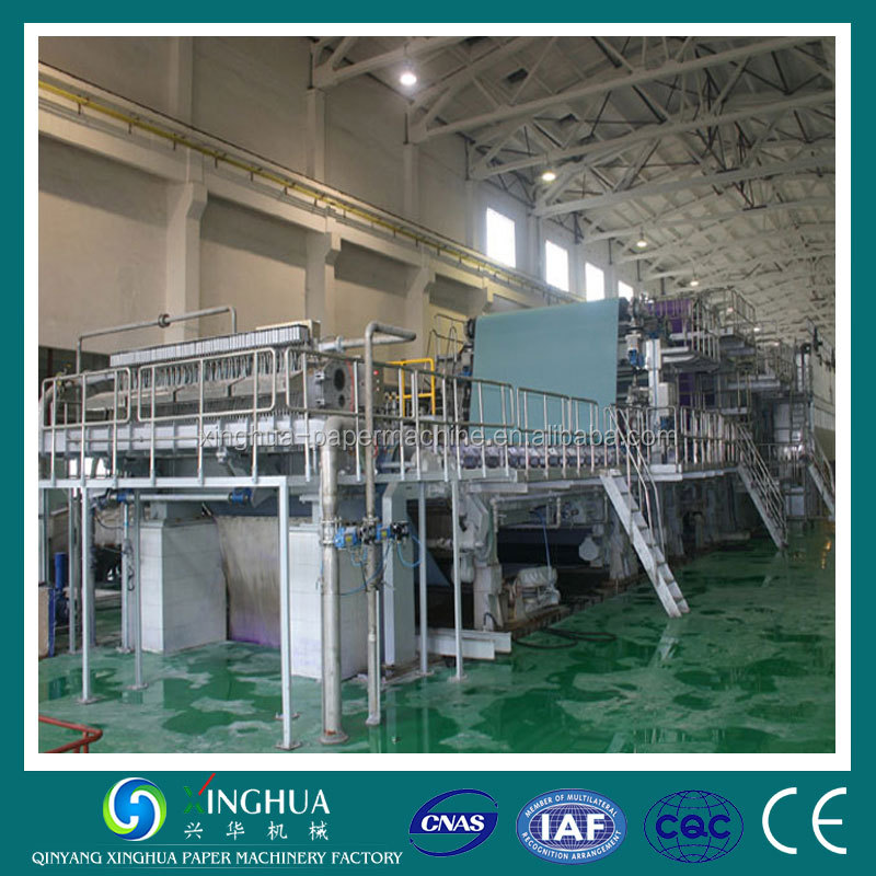 Durable quality Low price office copy printing a3 paper making machine for making a3 copy paper