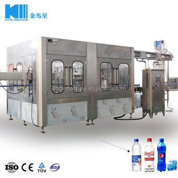 Carbonated drinks filler machine/gas water filling machine