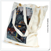 new products 2014 washable and reusable 100% natural customized printed plain handmade cotton hand bags