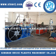 PP PE PVC corrugated flexible hose making machine, corrugated pipe making machine