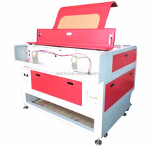 chain lifting 80w shoes decoration laser engraving machine