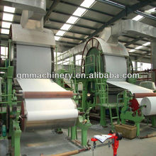 small toilet paper making machine and waste paper recycling machine