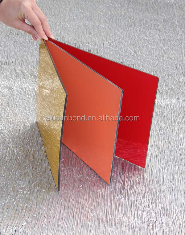 Wall decorative panels PE coating aluminium composite panel interior aluminum cladding wall panel