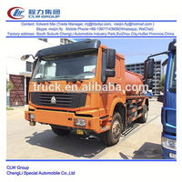 Sino Howo 4*2 4*4 type 266Hp 11000 liter sewage suction truck
