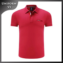 new short sleeve knit collars dry fit performance golf polo shirt