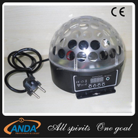 transparent crystal Christmas effect ball laser light