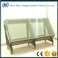 Energy saving high quality low e ceramic frit glass for facade