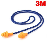 personal protection equipment 3M 1270 safety ear plugs in earplug container