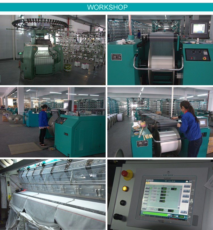 Factory price sublimation printing textile latex textile knitted matte frontlit display fabric