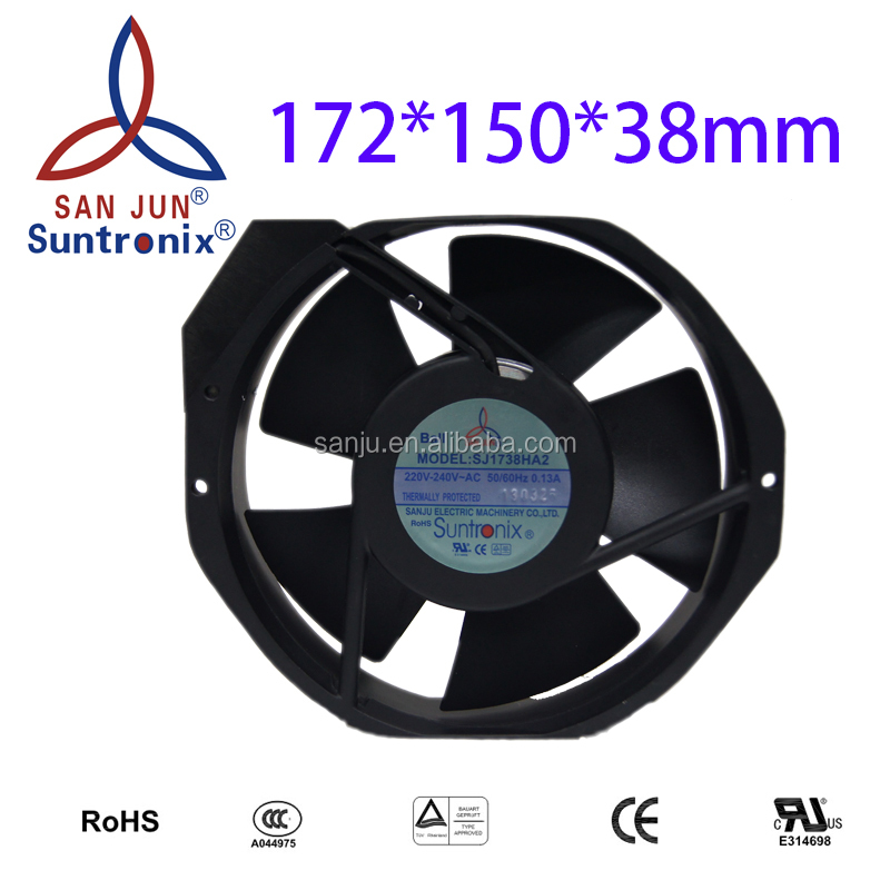 Suntronix cooling motor fans axial AC fan (Iron Blade) 172*150*38mm