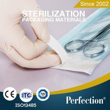 medical accessories self-sealing sterilization pouches heat sealing flat roll