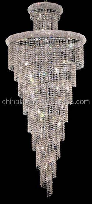 Best price and high quality product round chandelier crystals lighting for modern wedding decoration/hotel hall/house furniture