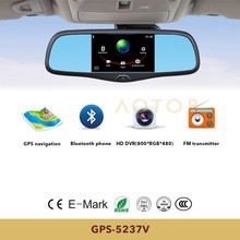 bluetooth rear view mirror with car backup camera, toyota innova car audio system