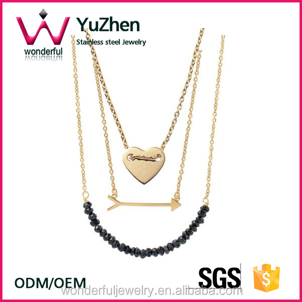 fashion jewelry citi trends jewelry Layering necklaces Stainless steel jewelry