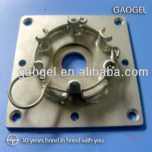 precision aluminum die casting compressor part die cast base bracket