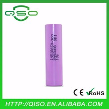 Hot 18650 3000mah battery 18650 lithium cell 3.7V 30Q for samsung battery