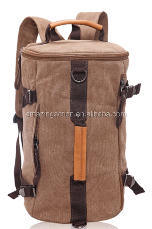 Canvas Good quality customized sport backpack