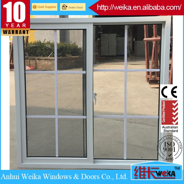 China top quality plastic extruded upvc profiles, pvc sliding glass window