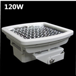 ATEX UL844 CUL DLC 120W explosion proof led gas station canopy light