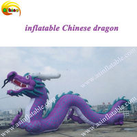 giant inflatable chinese dragon inflatbale model