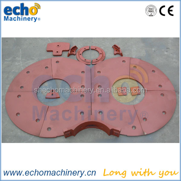 Sicoma Mao asphalt concrete mixer spare parts mixing arm and liner