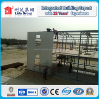 Building Site Low Cost Prefabricated Sandwich