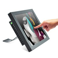 15 inch industrial touch screen all in one pc / POS / computer / desktop mini pc cpu (factory/manufactory )
