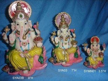 Hindu God Statue, Indian God, Indian Idol (sya03, Sya03b)