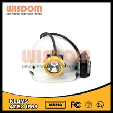 Wisdom KL8MS Larger beam miner headlamp