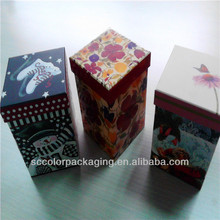 Cartoon cup of packaging boxes, vacuum packaging, warm box of the winter