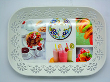 fruit and vegetable plastic plate,food plate,charger tray