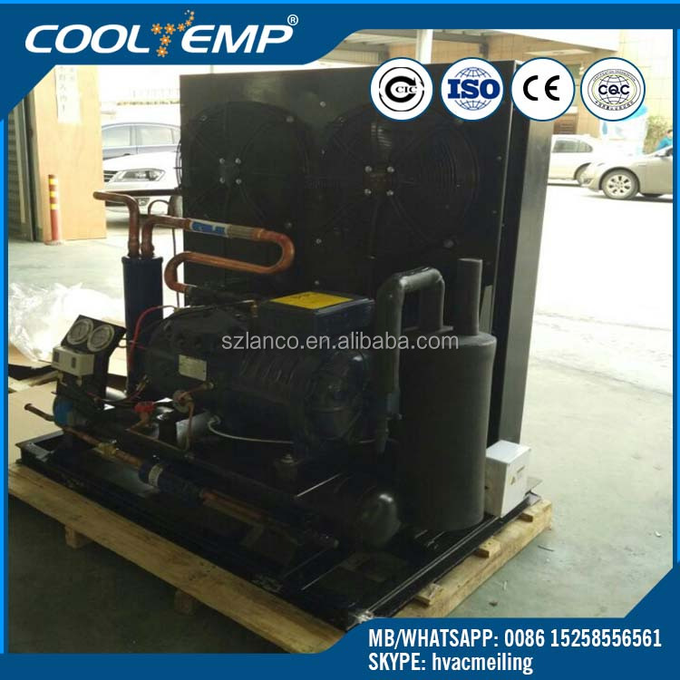 Original Import Dorin Compressor Air Cooled Condensing Unit For Blast Chiller