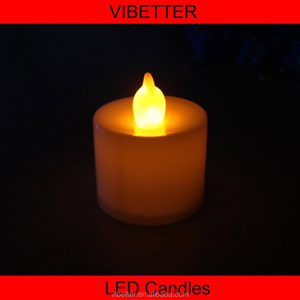 2016 top sale rechargeable flameless moving wick led candle