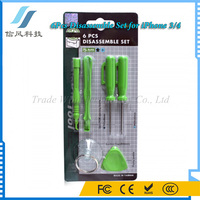 6Pcs Portable Screwdrivers Opening Tools for iPhone Repair Disassembly Kit Set