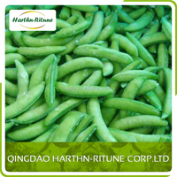 Healthy vegetables iqf frozen peapods price