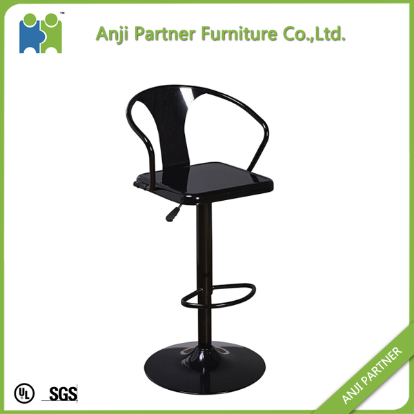 customized commercial simple design metal bar stool chair(Nydia)