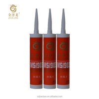 General purpose transparent waterproof modified silane sealant for industrial glass doors