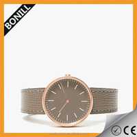 Hot style vogue alibaba express fashion lady alloy leather watch