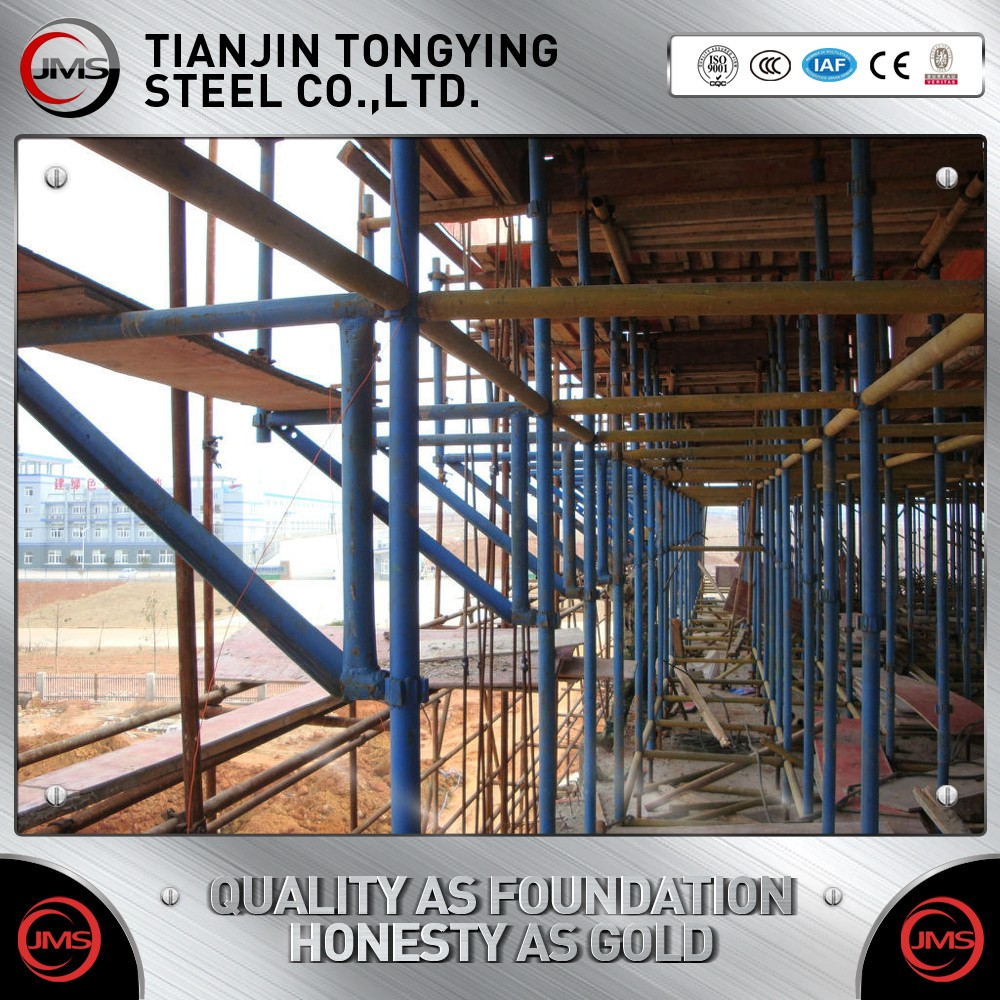 BS1139 & EN39 48.3 mm* 4mm scaffolding tube , zinc coating pipe for building construction