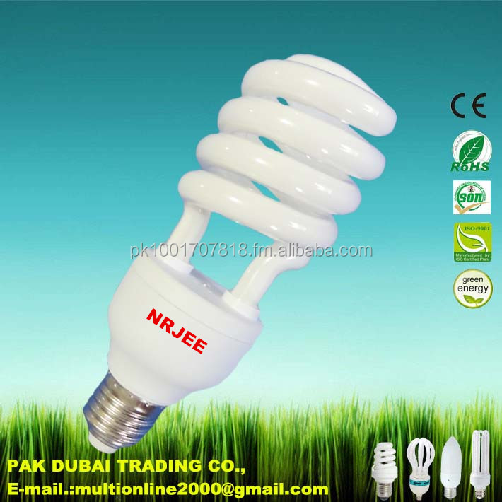 Half Spiral 25W Energy Saver Lamp