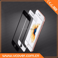 full cover 3D curved glass screen protector for apple iphone 6 plus and apple iphone 6s plus reinforced glass Shenzhen Vcover