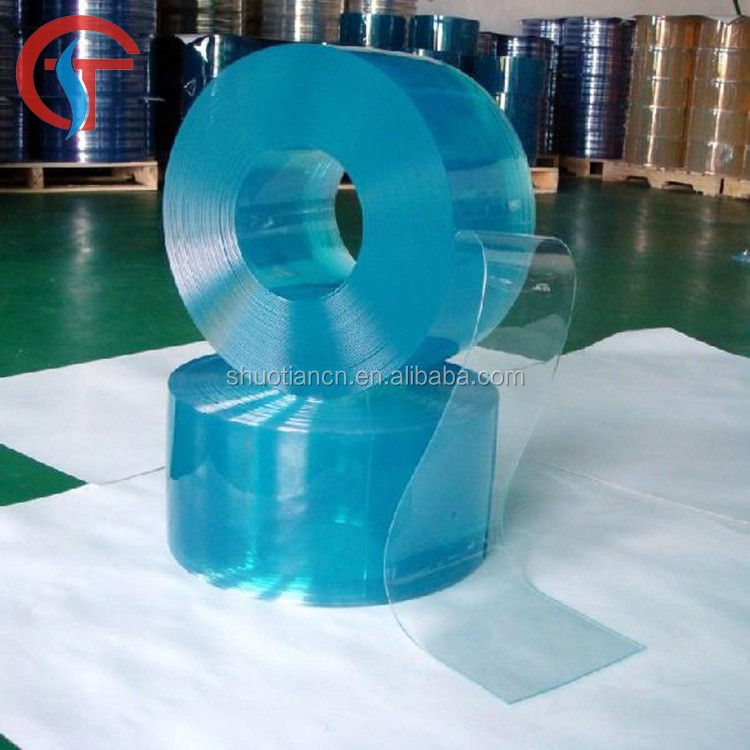 Polar freezer clear pvc strip curtain , refrigeration plastic pvc strips