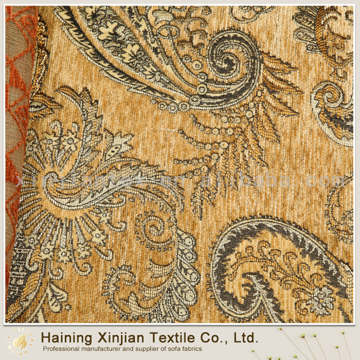 Beautiful Design chenille chinese upholstery fabric