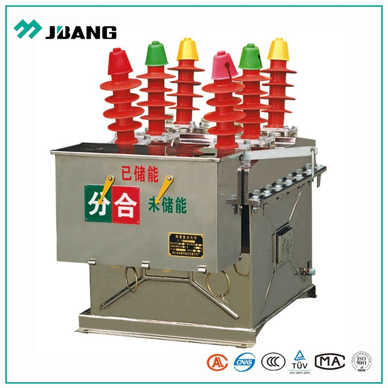 High breaking capacity parts of outdoor high voltage 12kv vacuum circuit breaker